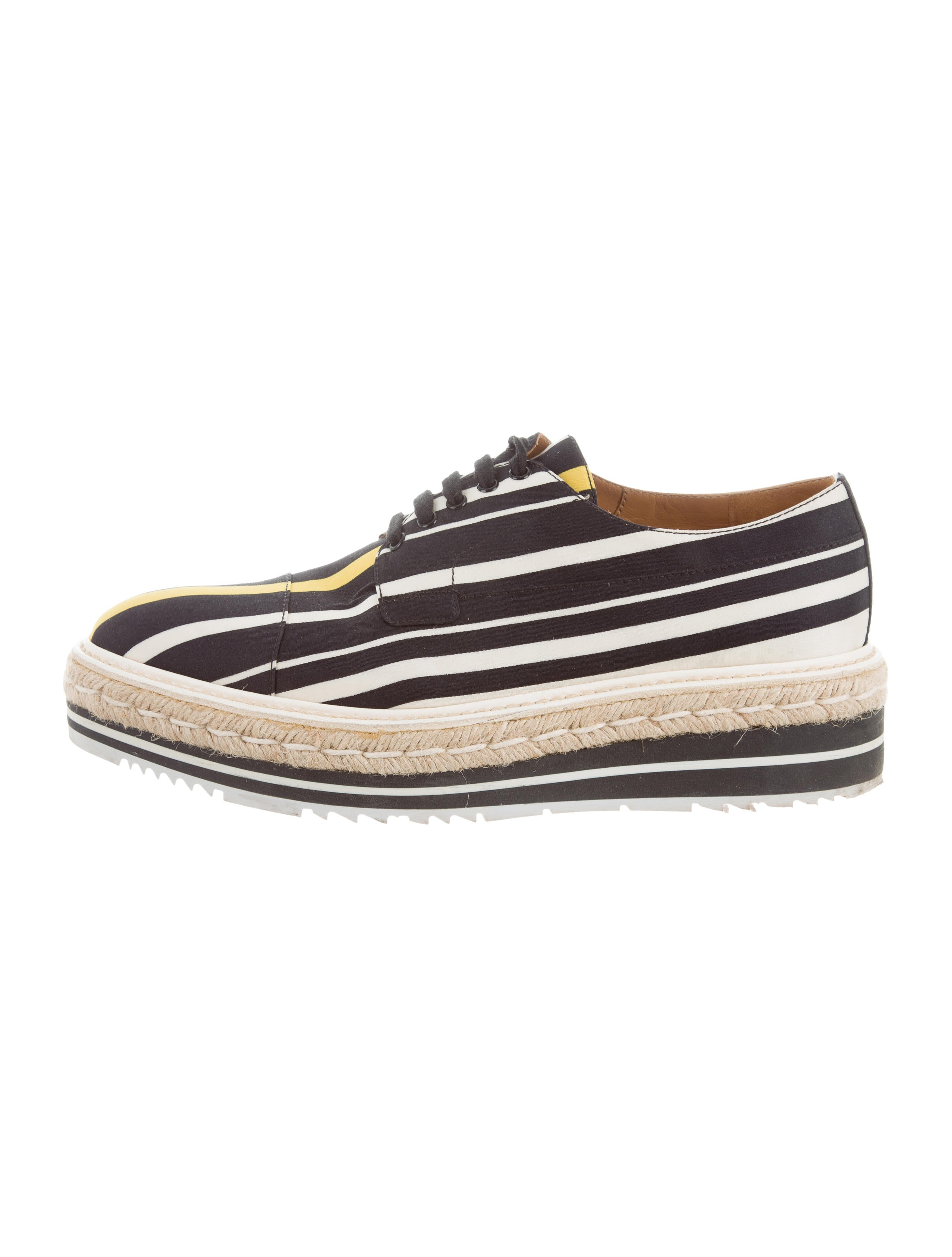 Prada Canvas Flatform Oxfords sale cheap online sale websites free shipping low price sale choice big discount sale online mjfgLAaBE