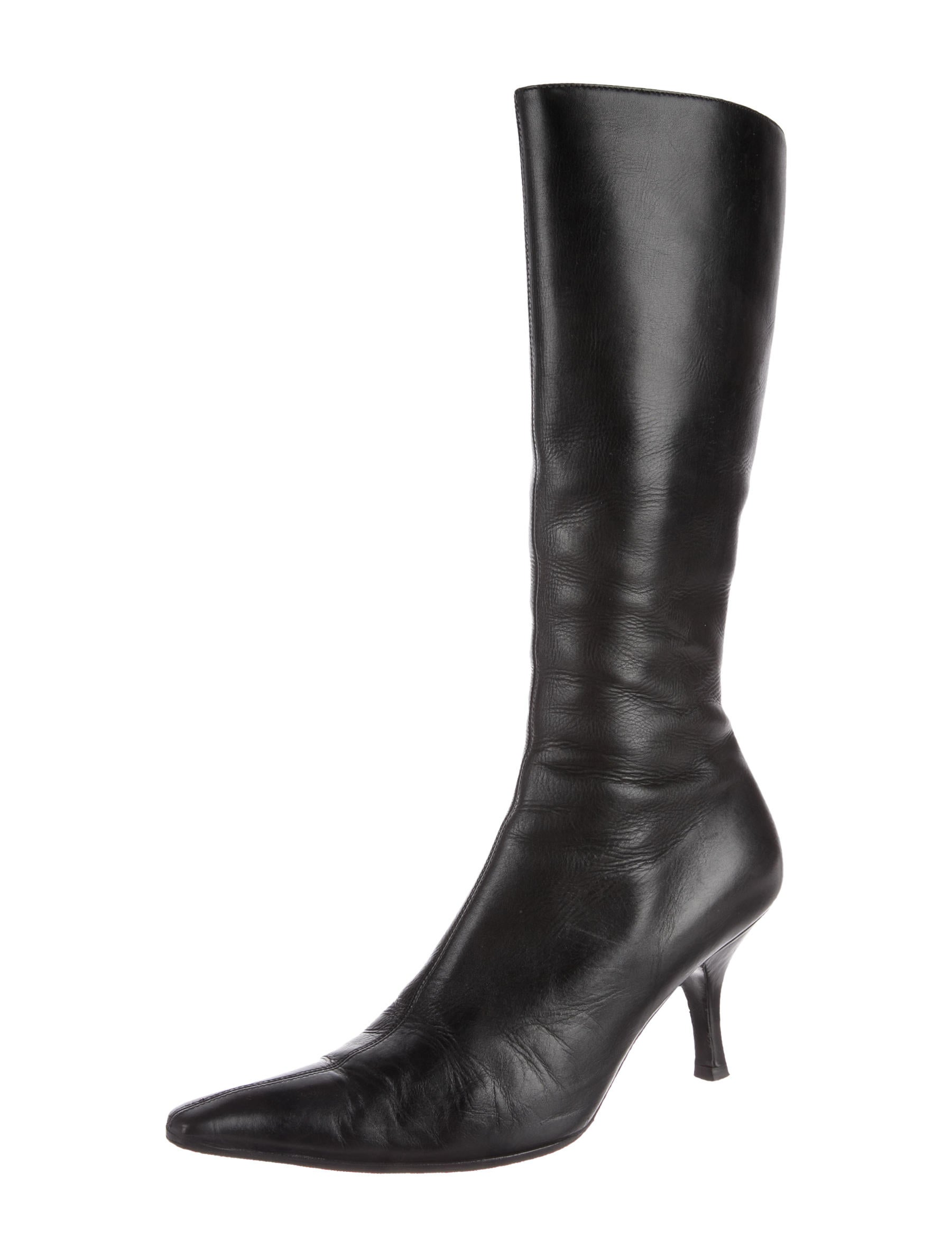 buy cheap brand new unisex buy cheap cheapest price Prada Pointed Mid-Calf Boots uE2XIQI