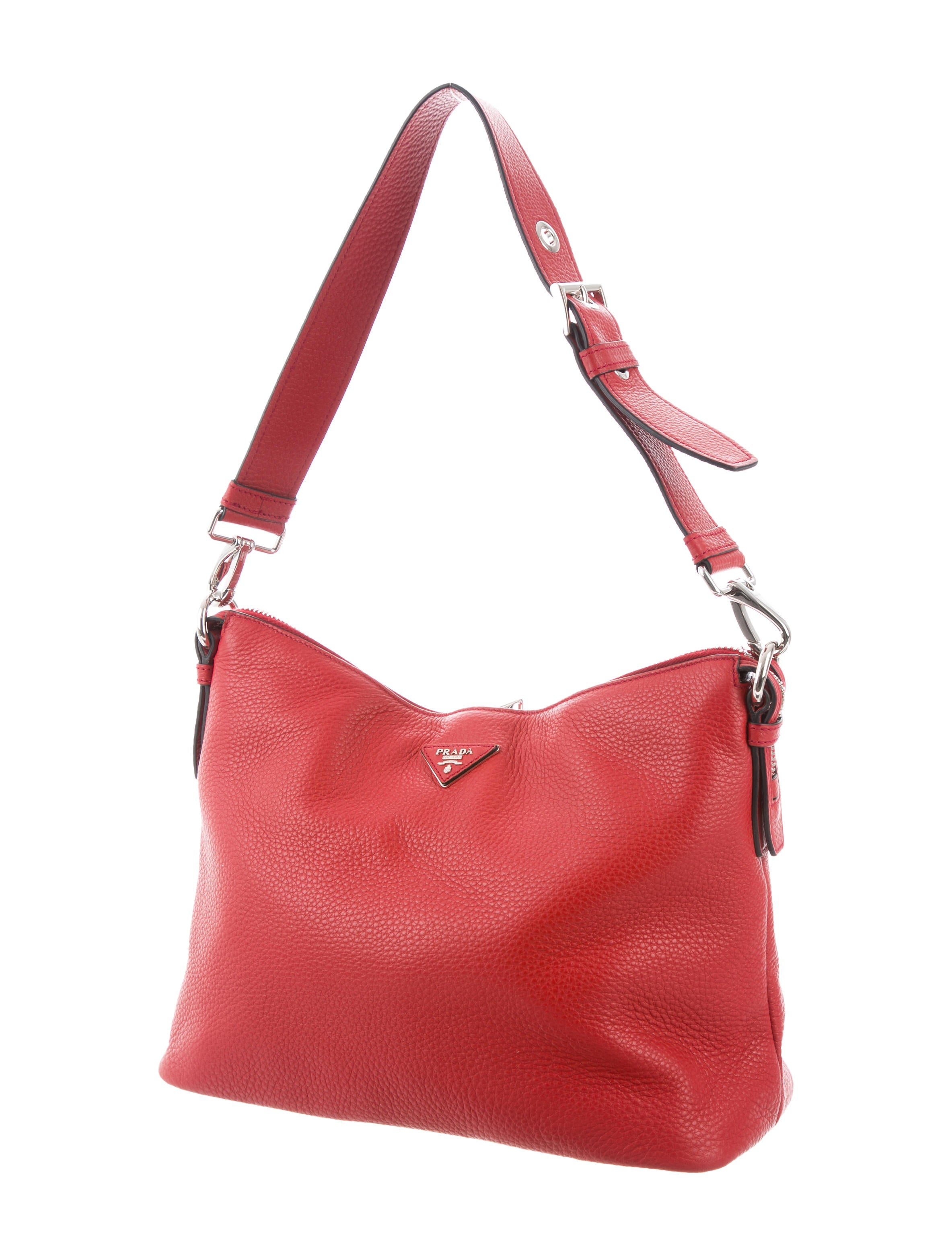 5c79bc6a50e3 Prada Vitello Daino Hobo - Handbags - PRA188975