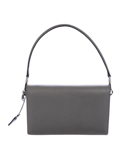 32dff3bd0 Prada Saffiano Lux Convertible Sound Bag - Handbags - PRA189995 ...