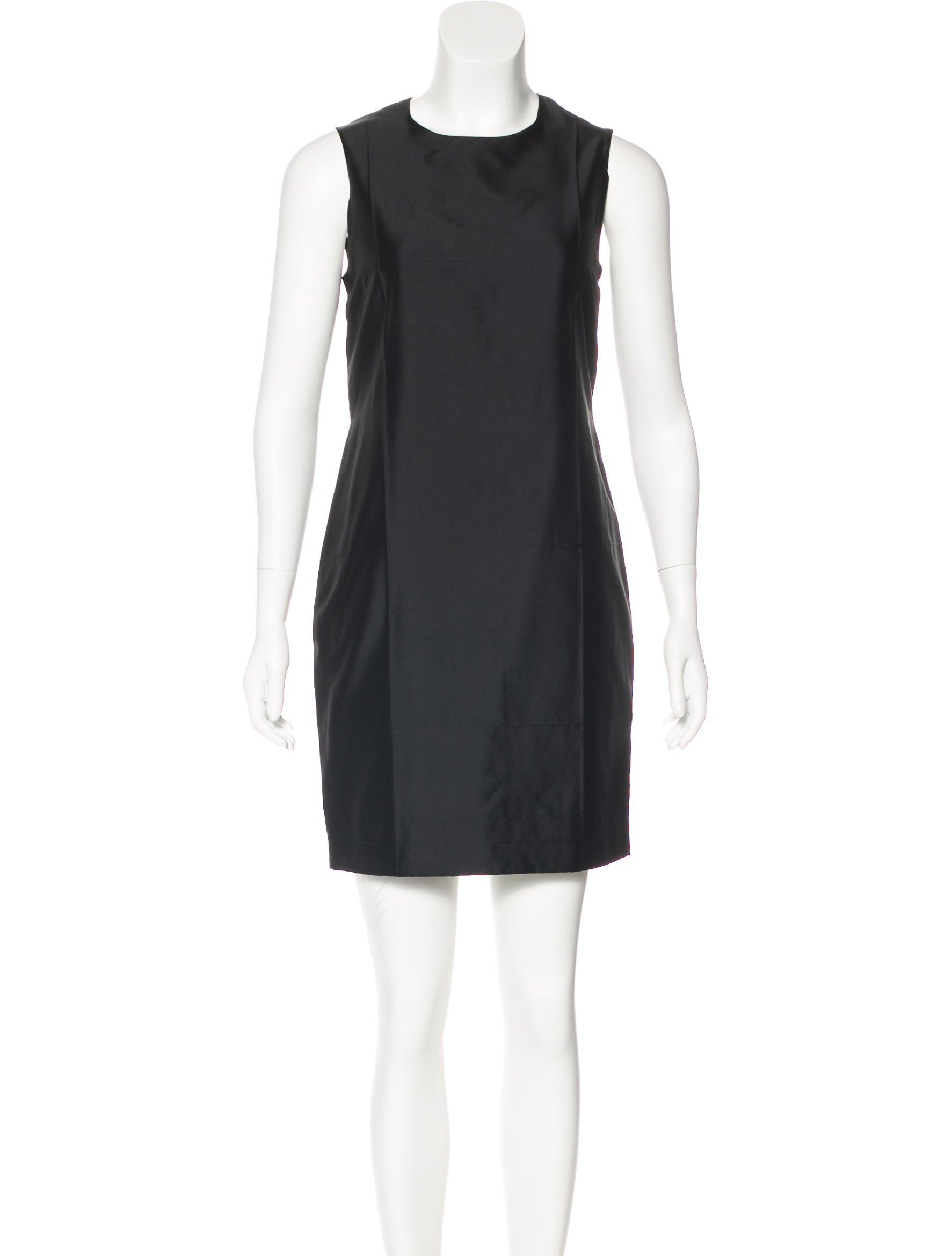 Black sheath dress Prada ubzgT
