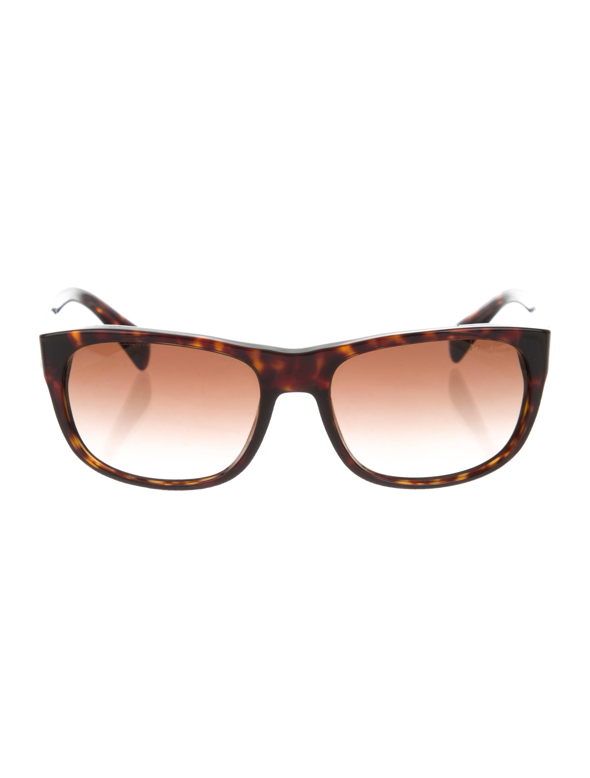 39a7ababa7aa Prada Tinted Lens Sunglasses - Accessories - PRA191496