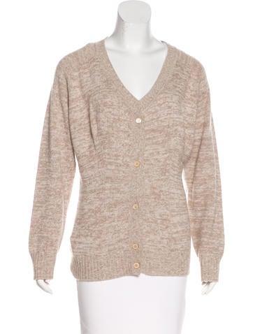 Prada Wool Button-Up Cardigan w/ Tags None