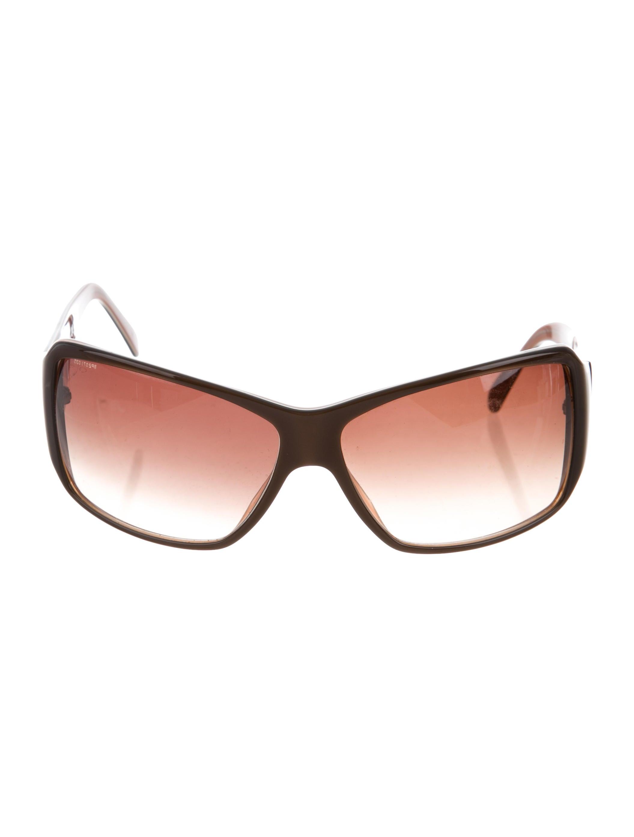 6612c998fd66 Prada Logo Square Sunglasses - Accessories - PRA192938
