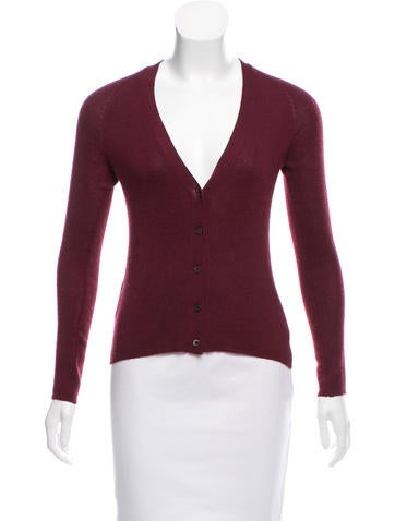 Prada Cashmere and Silk-Blend Cardigan None