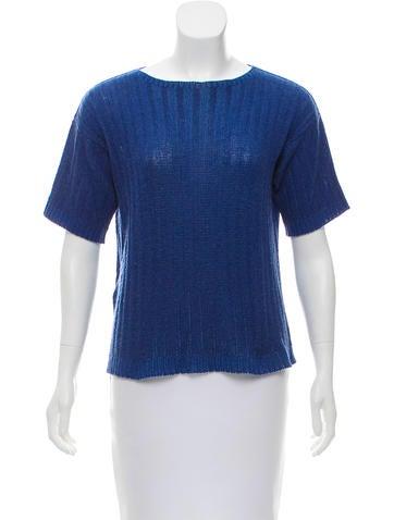 Prada Wool Rib Knit Sweater None