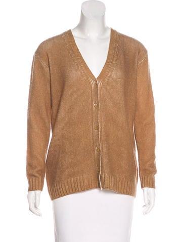 Prada Wool & Cashmere-Blend Cardigan None