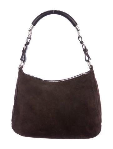 fd782b2d92 Prada Scamosciato Hobo - Handbags - PRA186405
