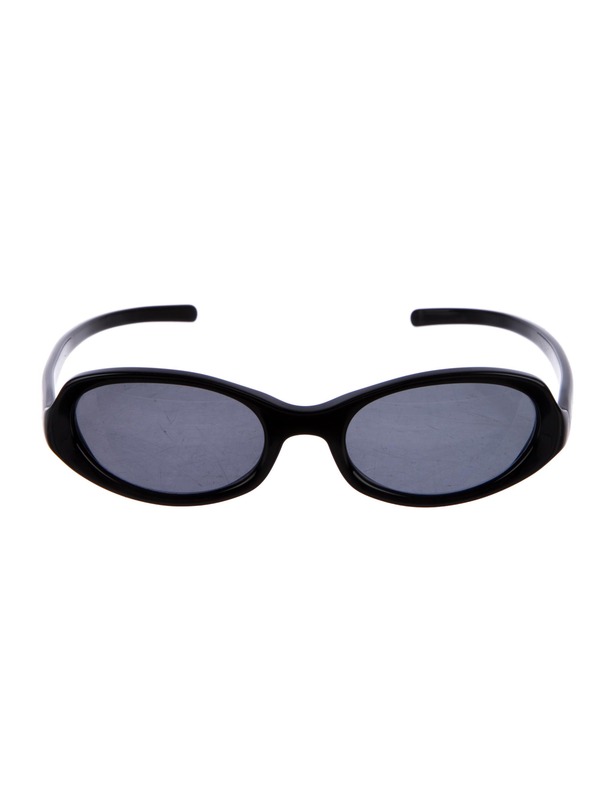 e201dd69461e Prada Narrow Tinted Sunglasses - Accessories - PRA195171