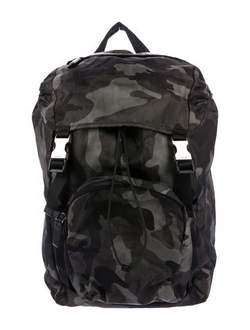 Tessuto Camouflage Backpack