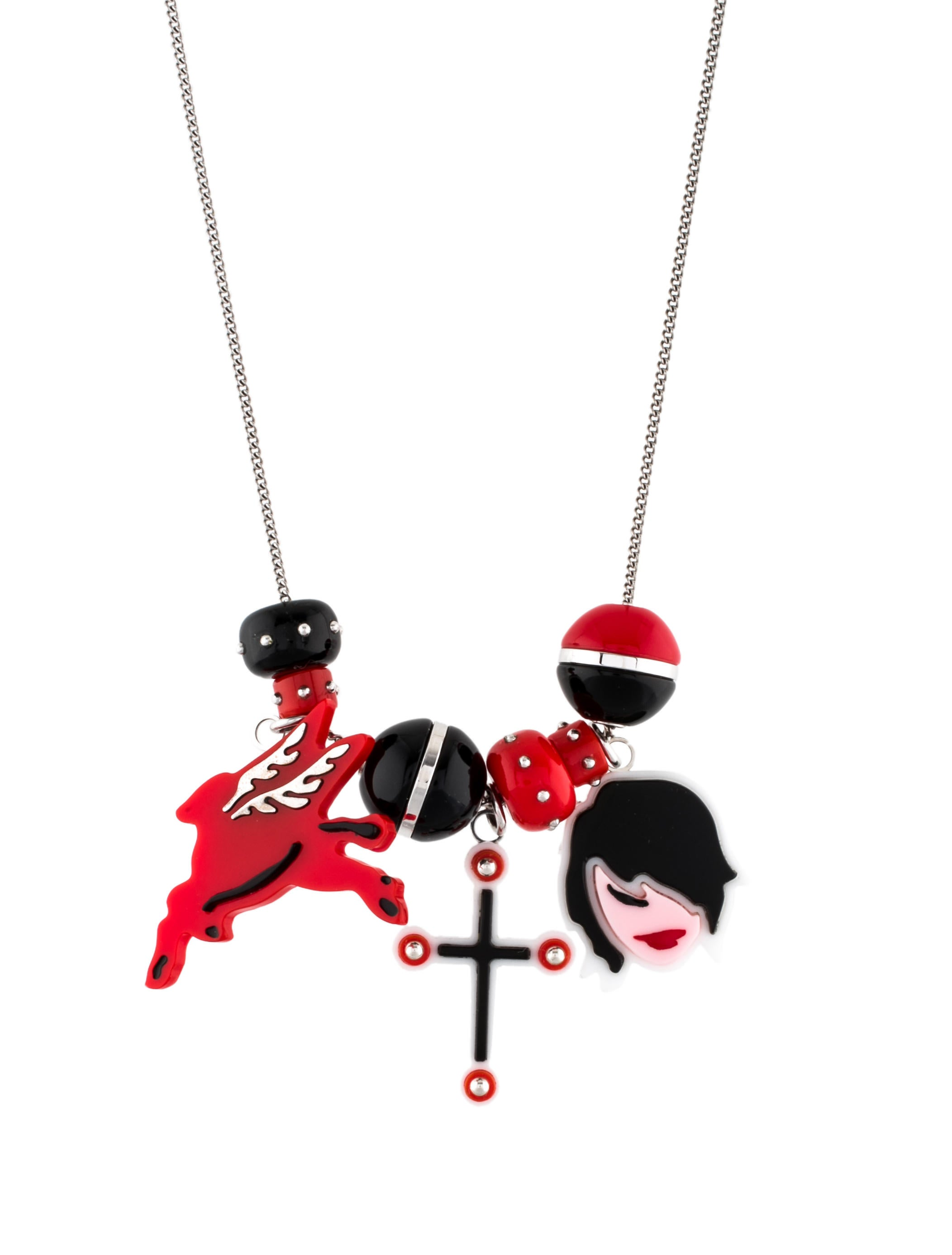 Prada Prada Pop Necklace DJLwer