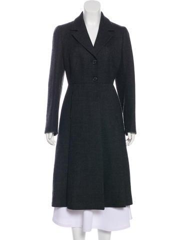 Prada Wool Long Coat None