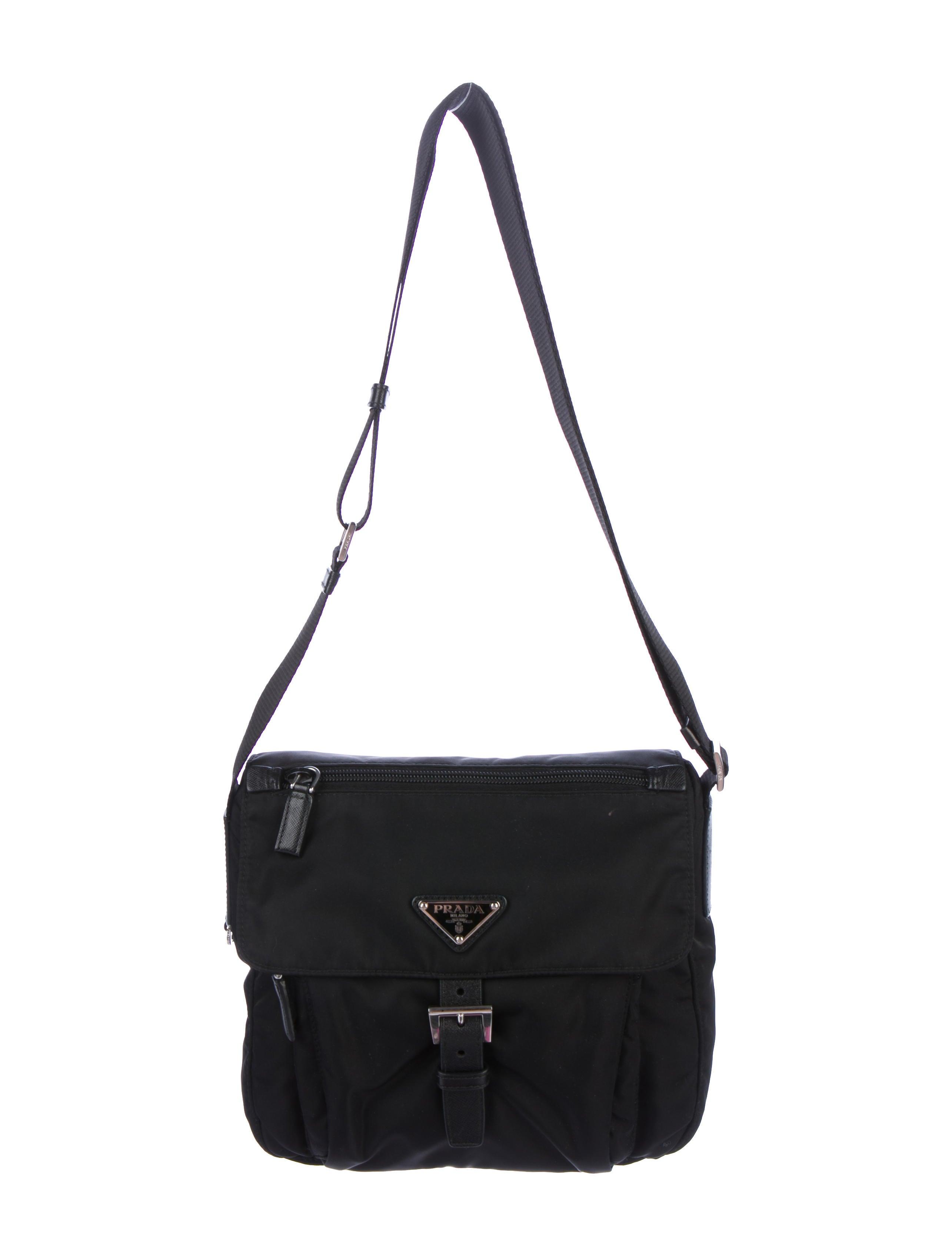be18c6de0b08 discount code for prada vela flat crossbody bag black f552c 72c3b; italy  prada tessuto messenger bag handbags pra203984 the realreal 0fa03 893b3
