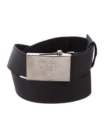 0545eff7edb7 Prada Logo Patent Leather Waist Belt - Accessories - PRA201780
