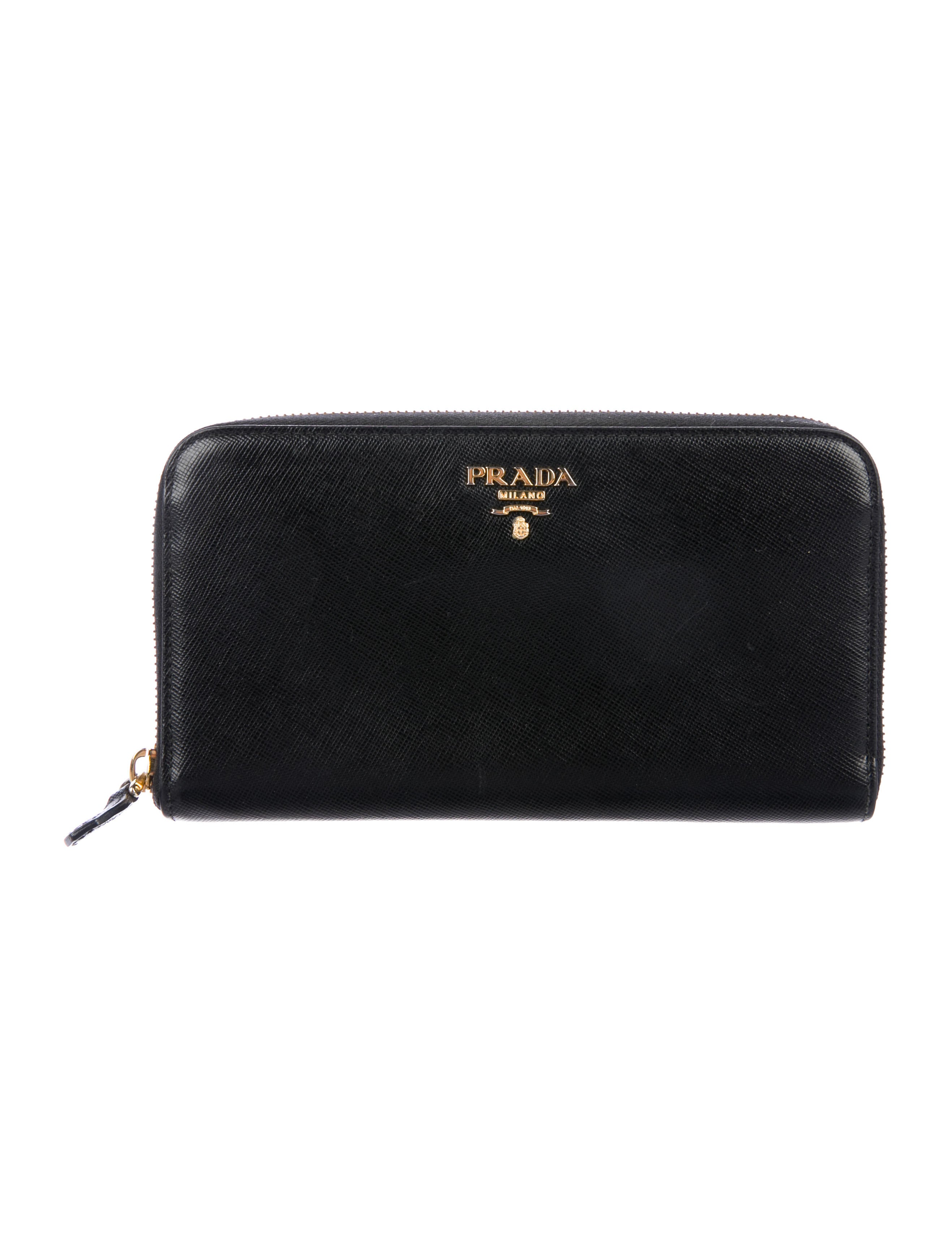 a78dcc24d903 Prada Saffiano Zip-Around Wallet - Accessories - PRA213794 | The ...