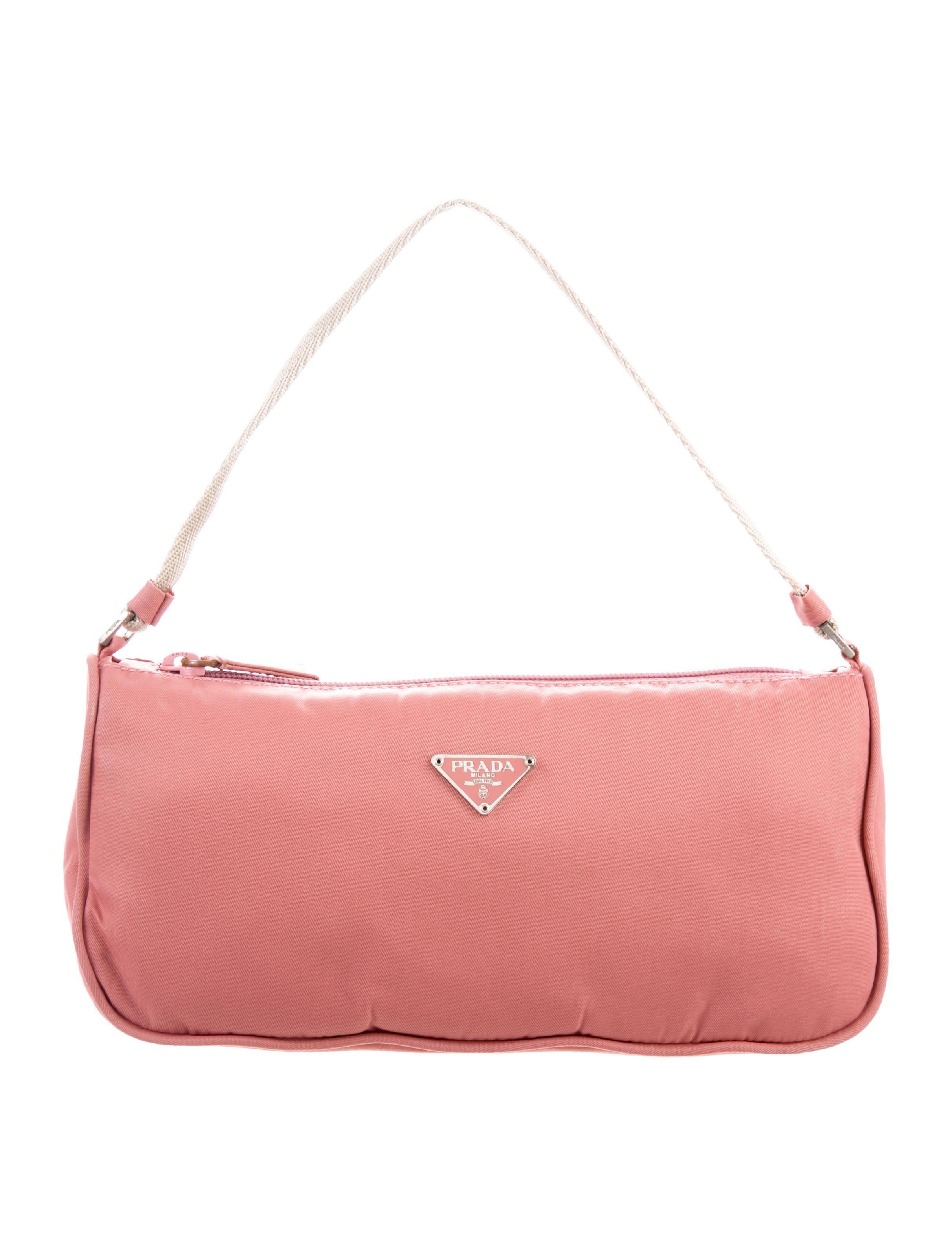 6dab5a5e5a73 Prada Vela Necessaire Bag - Handbags - PRA216587 | The RealReal