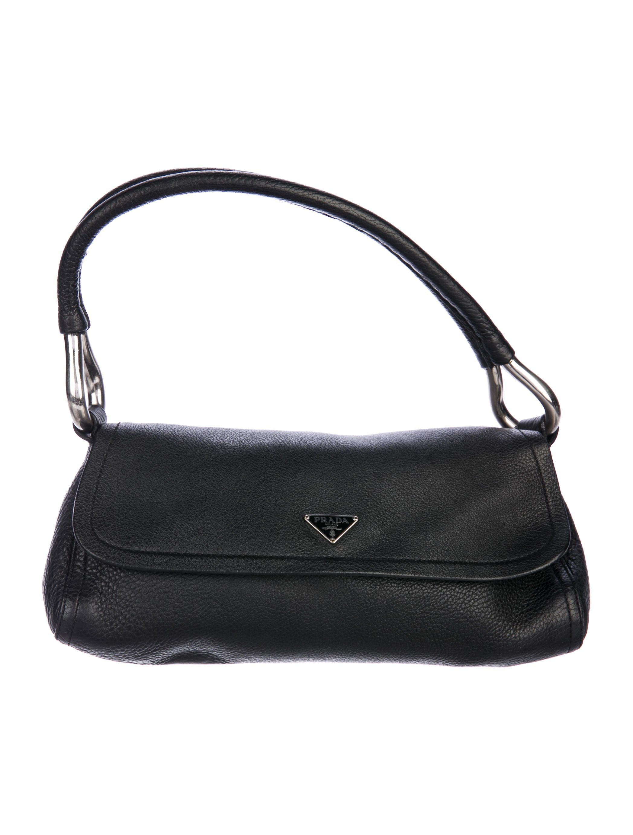 1006fc71e255 Prada Vitello Daino Shoulder Bag - Handbags - PRA217662