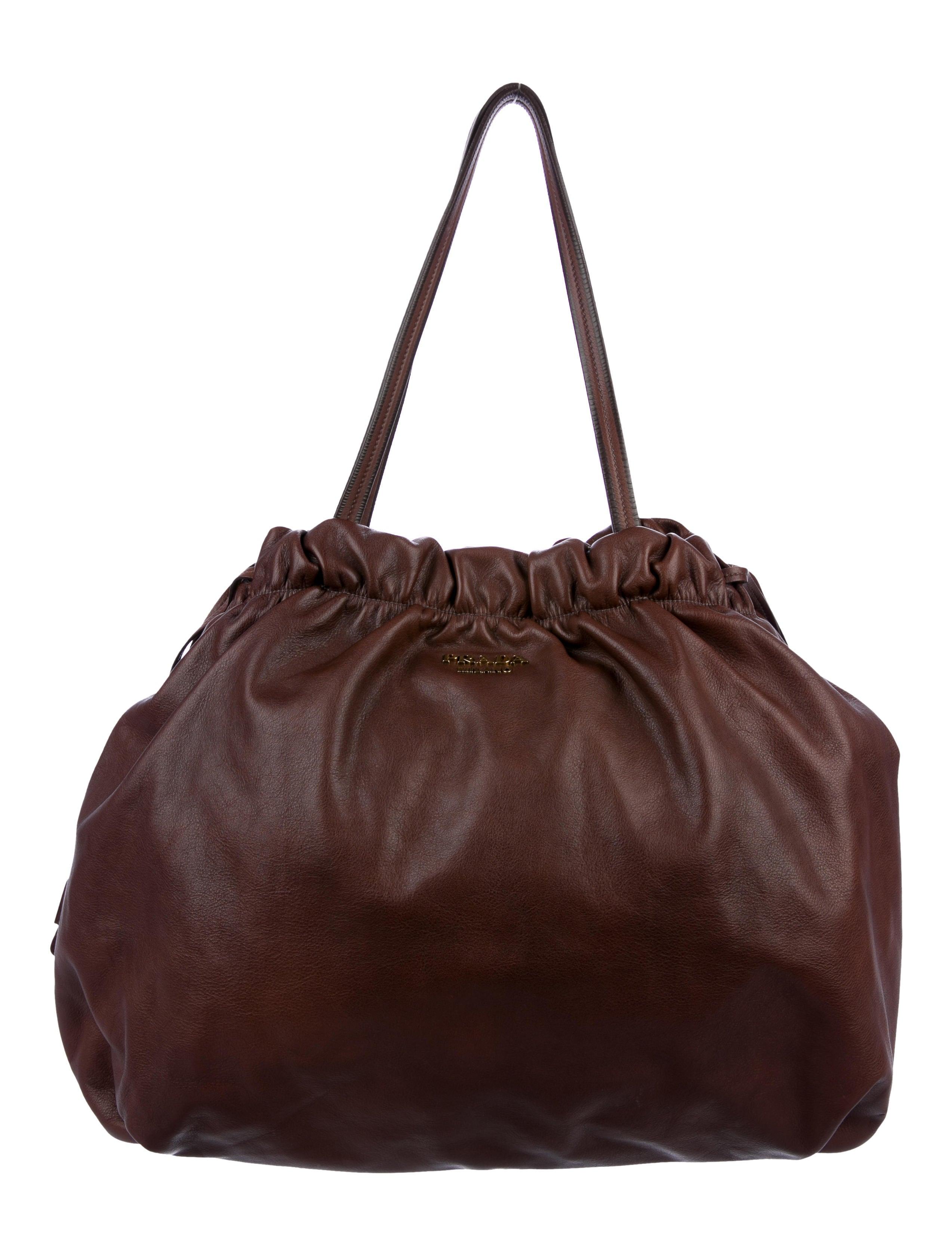 601d3c4a7292 Prada Soft Calf Tote - Handbags - PRA220820