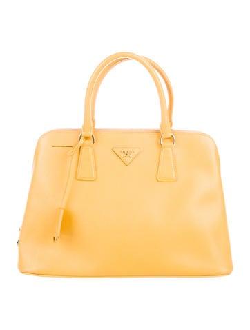 Prada Saffiano Lux Promenade Bag by Prada