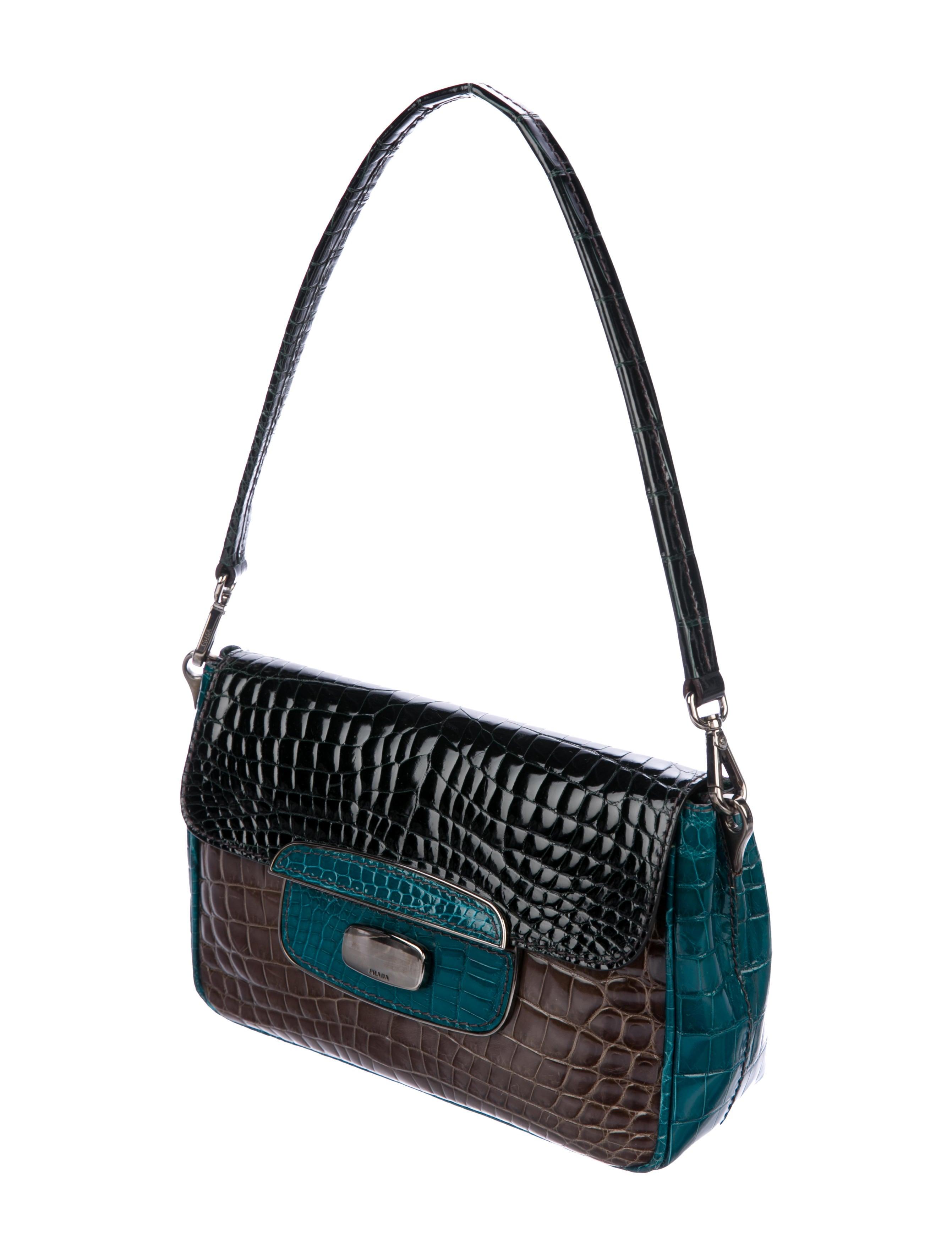 Lock Crocodile Bag Push Bag Crocodile Lock Prada Prada Push Prada