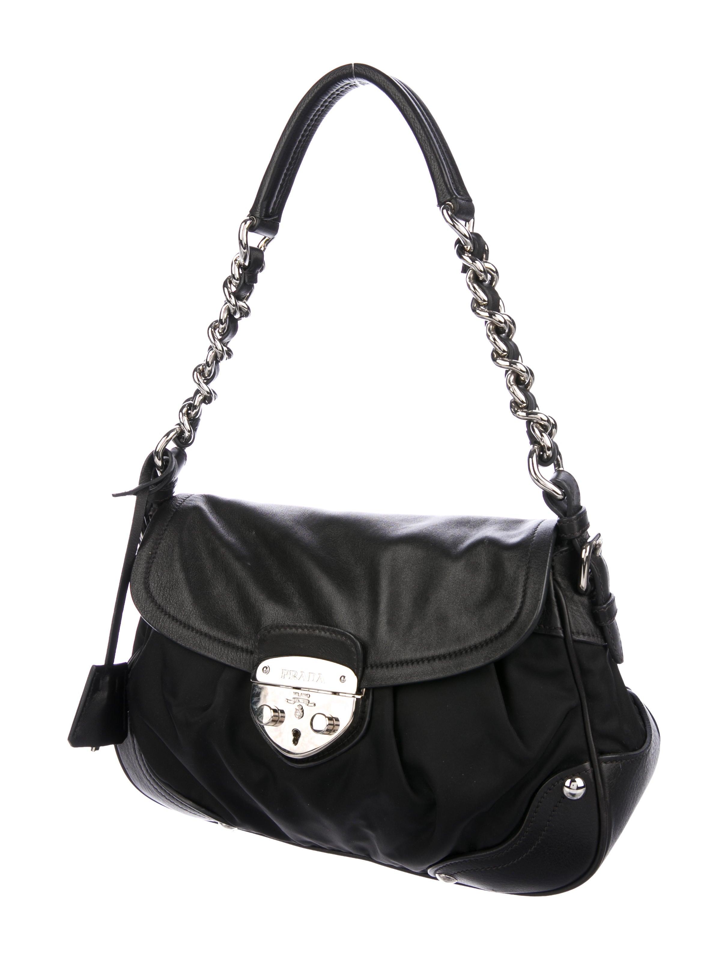 Vitello amp  Prada Tessuto Bag Chain BanOX in shambles ... 964a39dc99