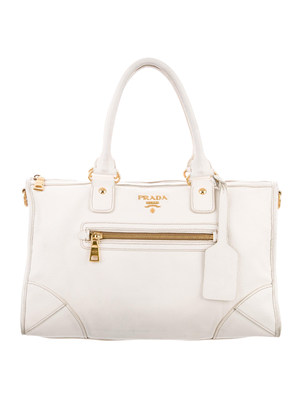 c2d79a0ddfcd Prada Cervo Antik Satchel - Handbags - PRA227277 | The RealReal