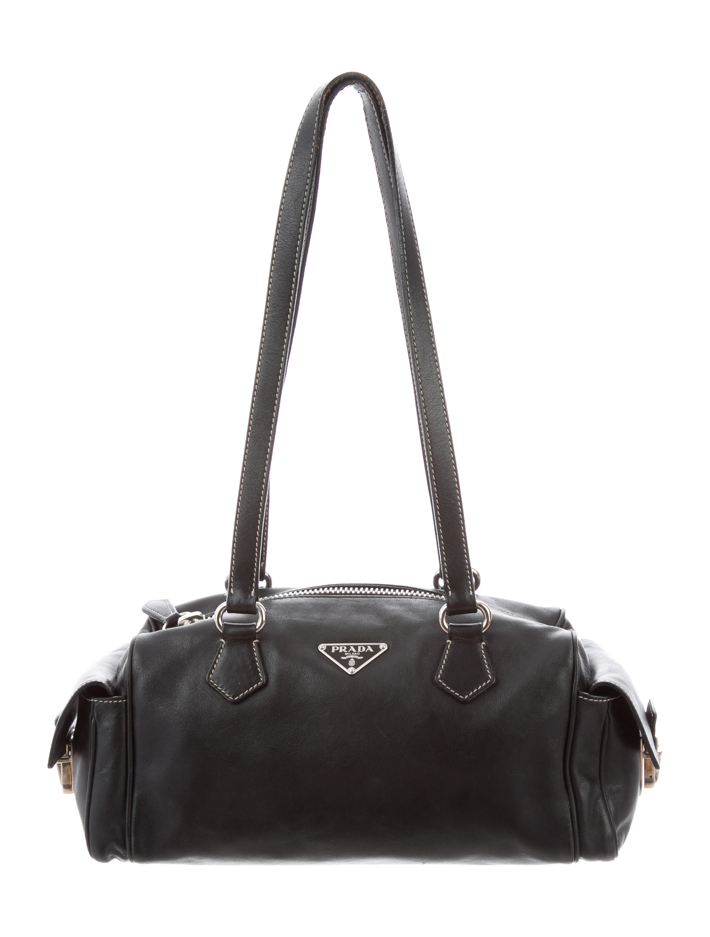 8b32d5ed355663 Leather Bag Prada Shoulder Leather Bag Prada Shoulder 8EzqpR-straits ...