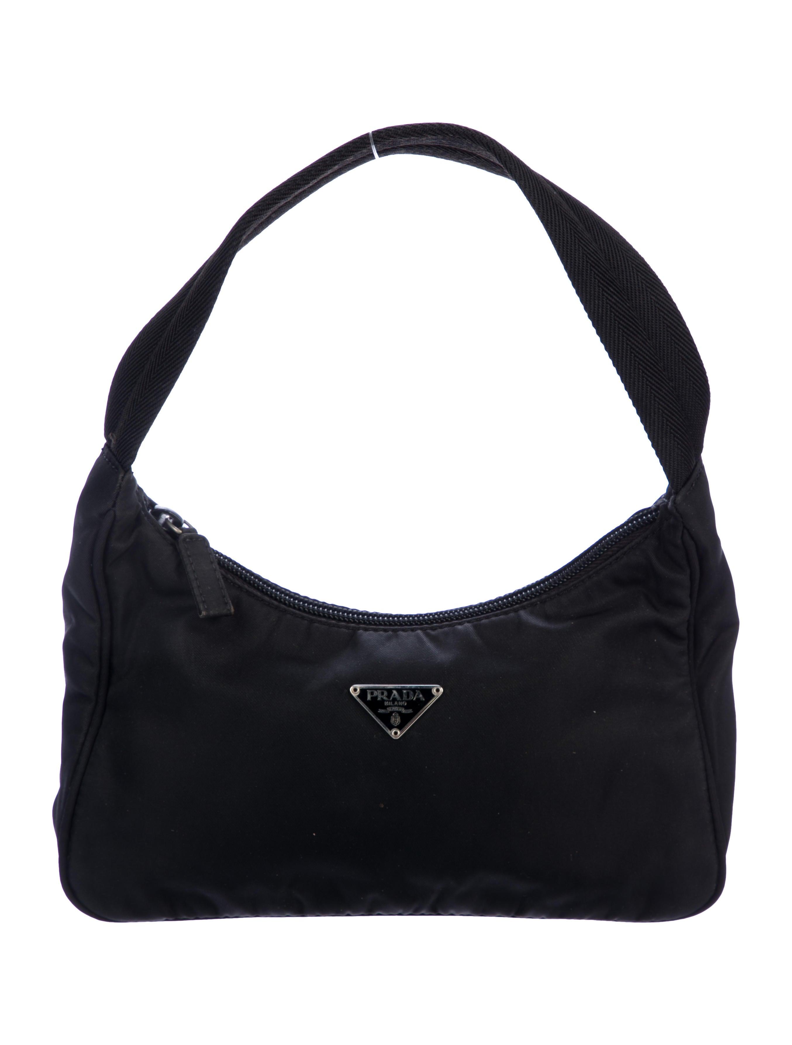 1c07c15c1a9a Prada Necessaire Tessuto Nylon Handle Bag - Handbags - PRA228396 ...