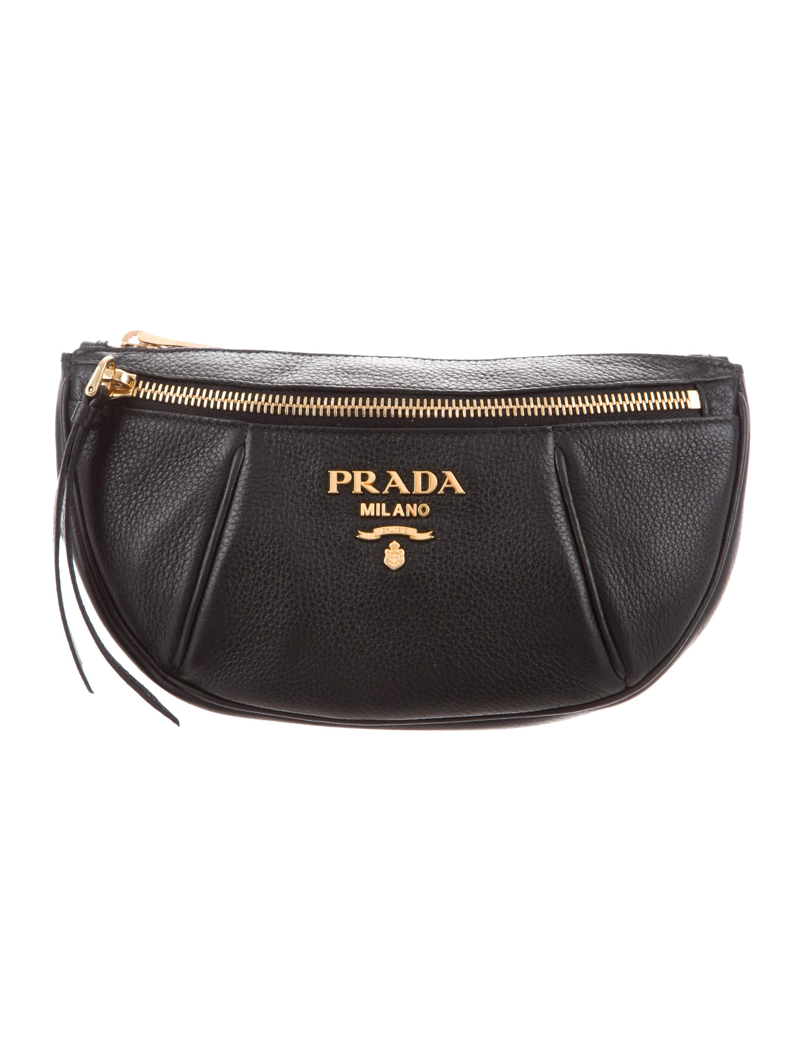 3135c8c737d3 Prada 2018 Vitello Daino Belt Bag - Handbags - PRA229168