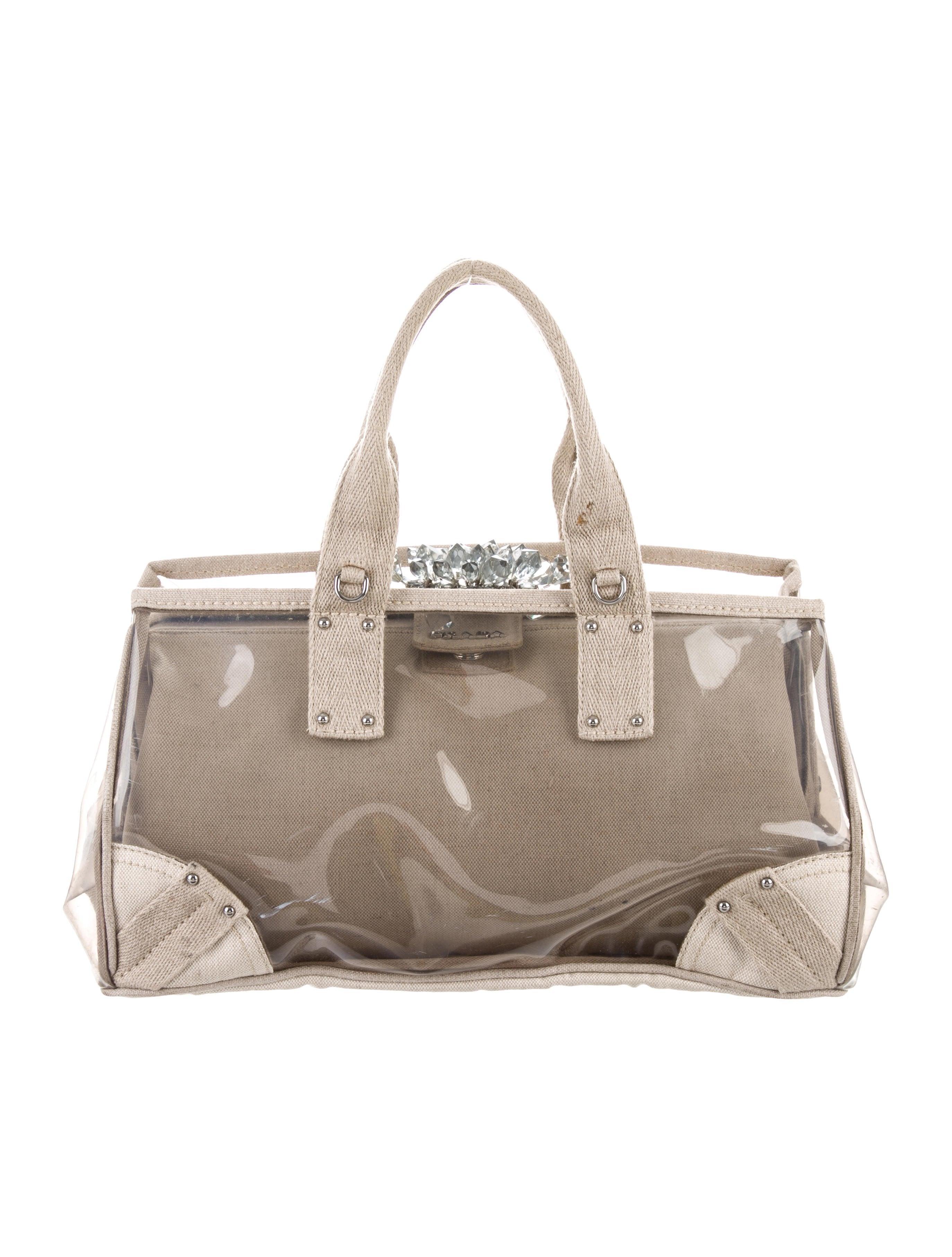 Plex Mistolino Frame Bag by Prada