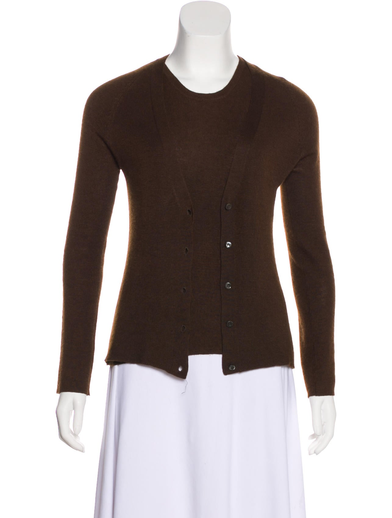 Prada Cashmere Blend Sweater Set Clothing Pra231350 The Realreal