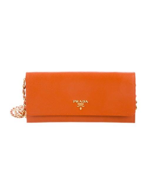 c96cf3243efc Prada Saffiano Wallet On Chain - Handbags - PRA234254 | The RealReal