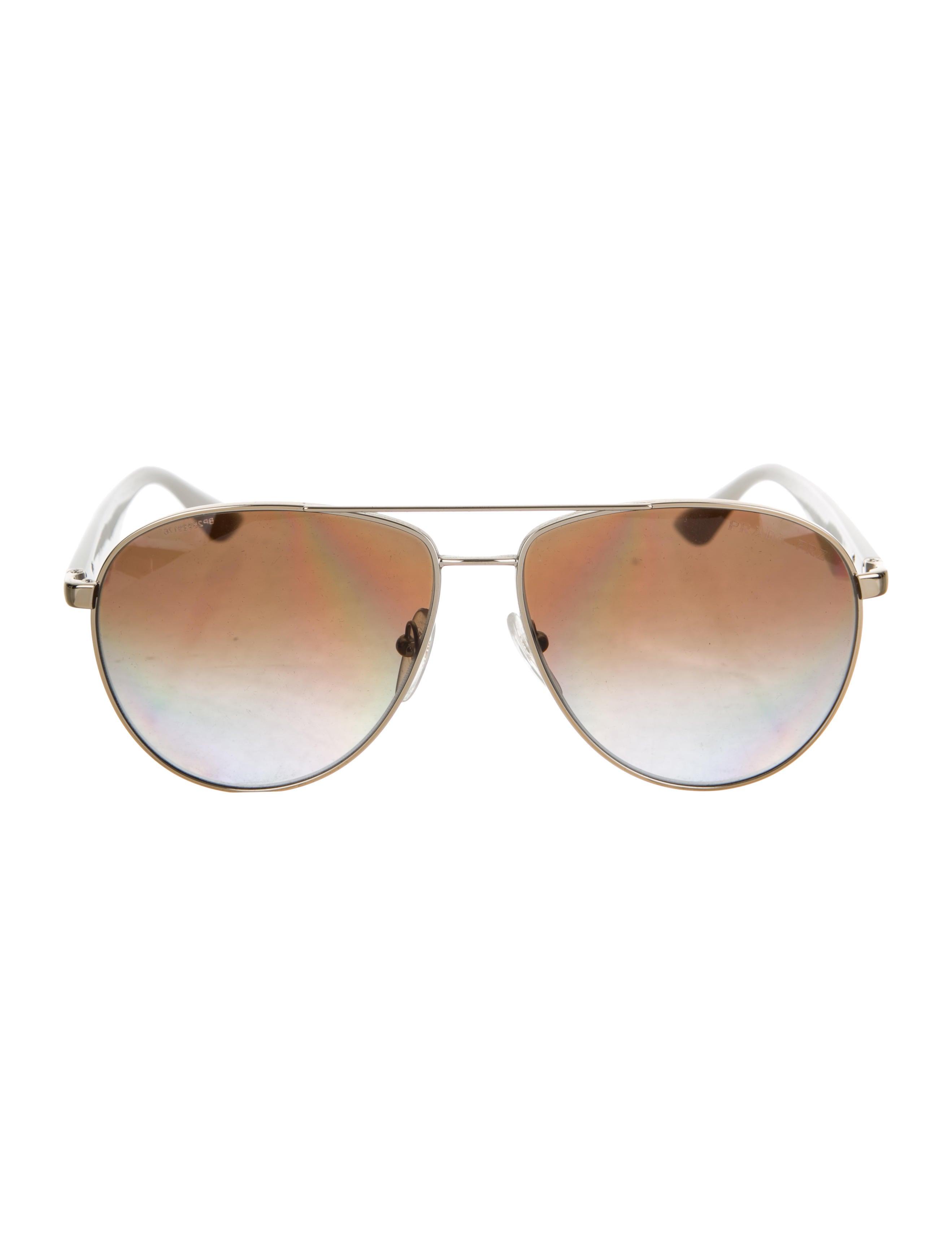 3a2f6896243 Prada Aviator Gradient Sunglasses - Accessories - PRA234638