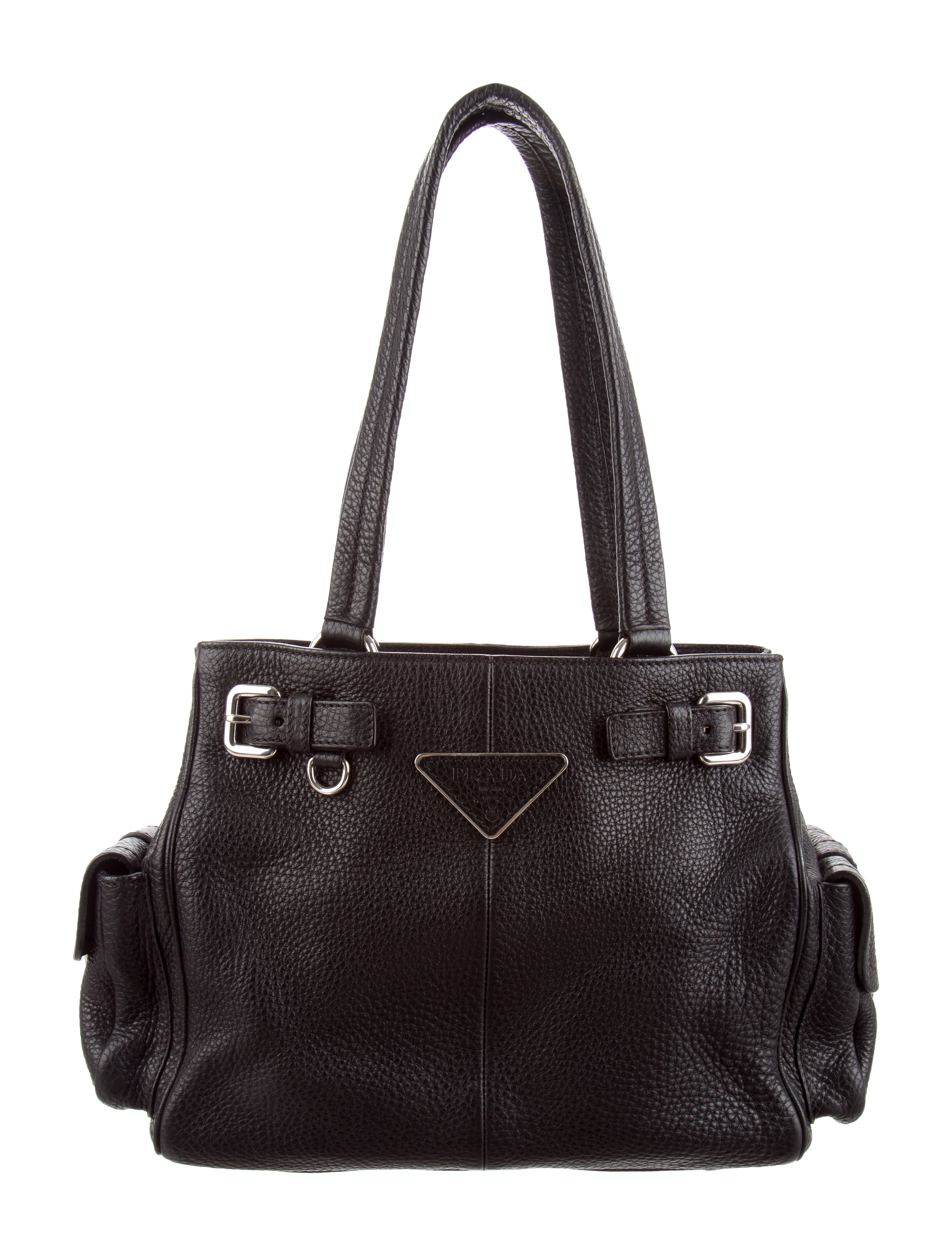 becf55c6839f Prada Vitello Daino Shoulder Bag - Handbags - PRA236316