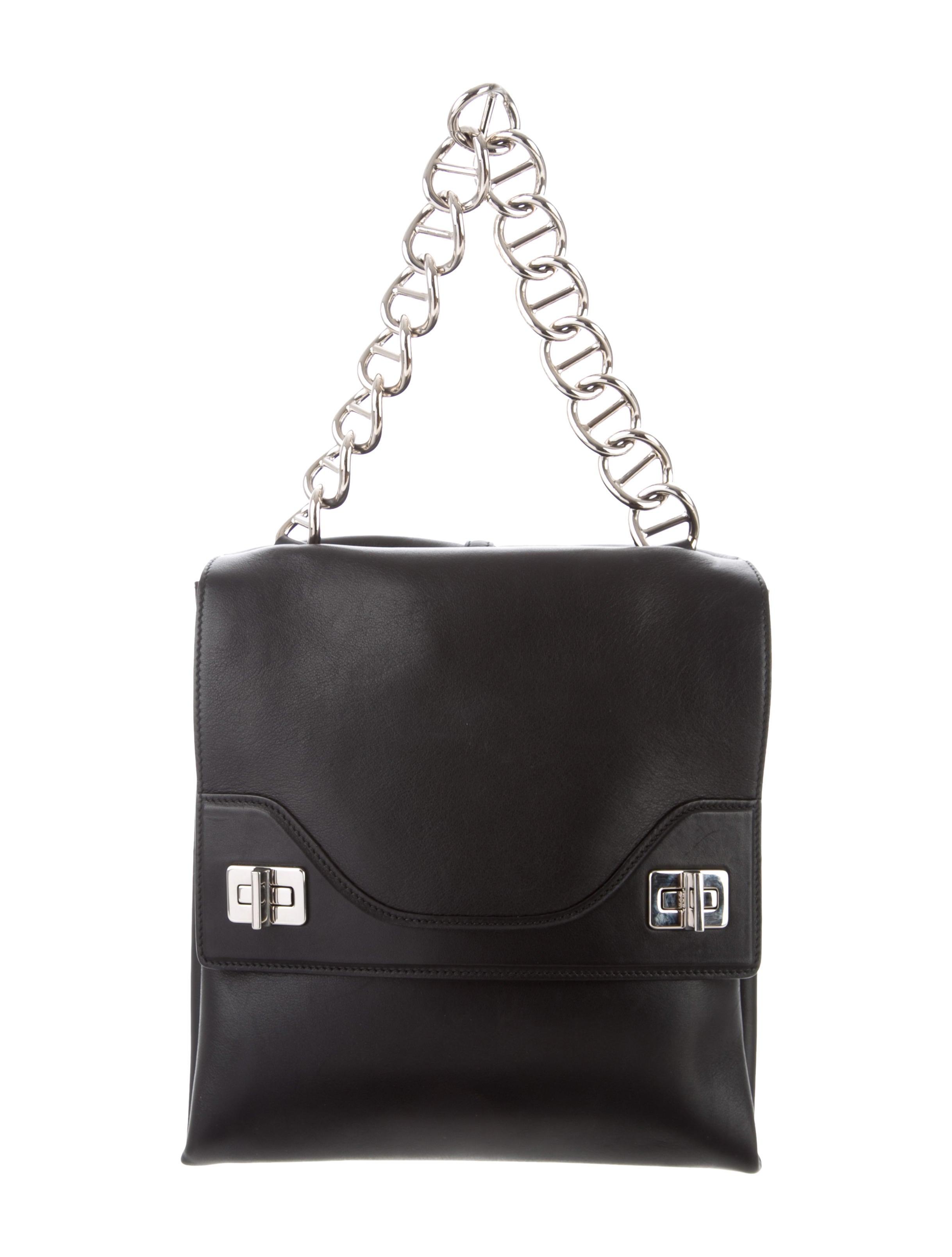 35d47c7115 Prada Vitello Soft Chain Shoulder Bag - Handbags - PRA238545