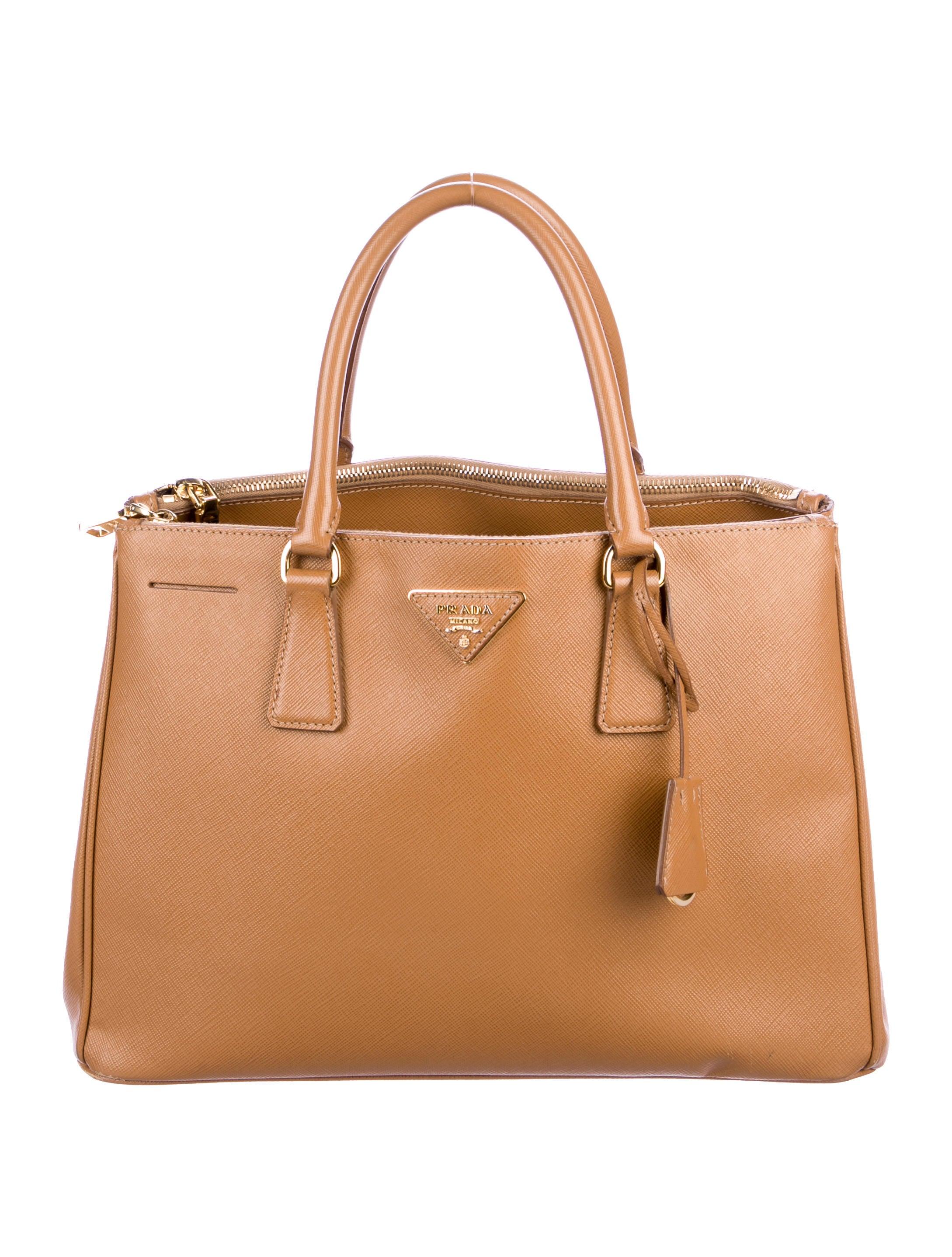 f7d16768faec Prada Medium Saffiano Lux Galleria Double Zip Tote - Handbags ...