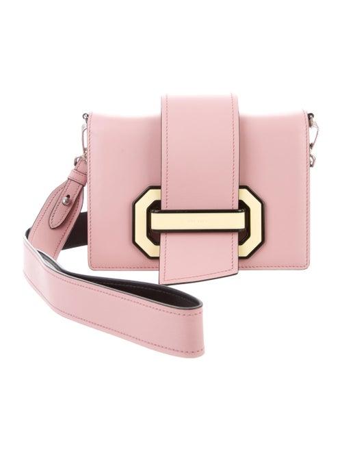 ca40039eaea2 Prada 2017 City Calf Plex Ribbon Geometric Small Flap Bag - Handbags ...