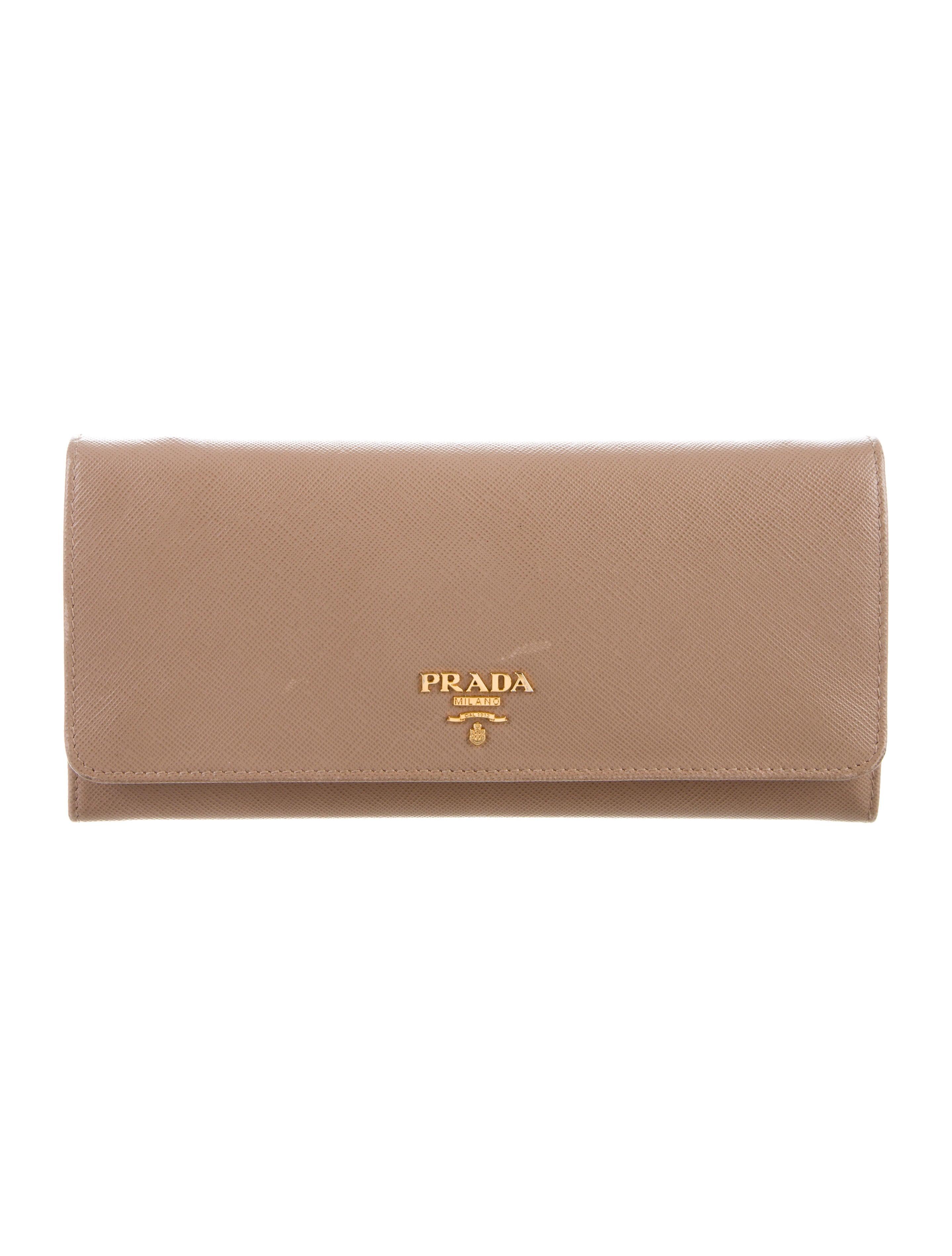 fe784037889e Prada Saffiano Leather Wallet On Chain - Handbags - PRA245149 | The ...