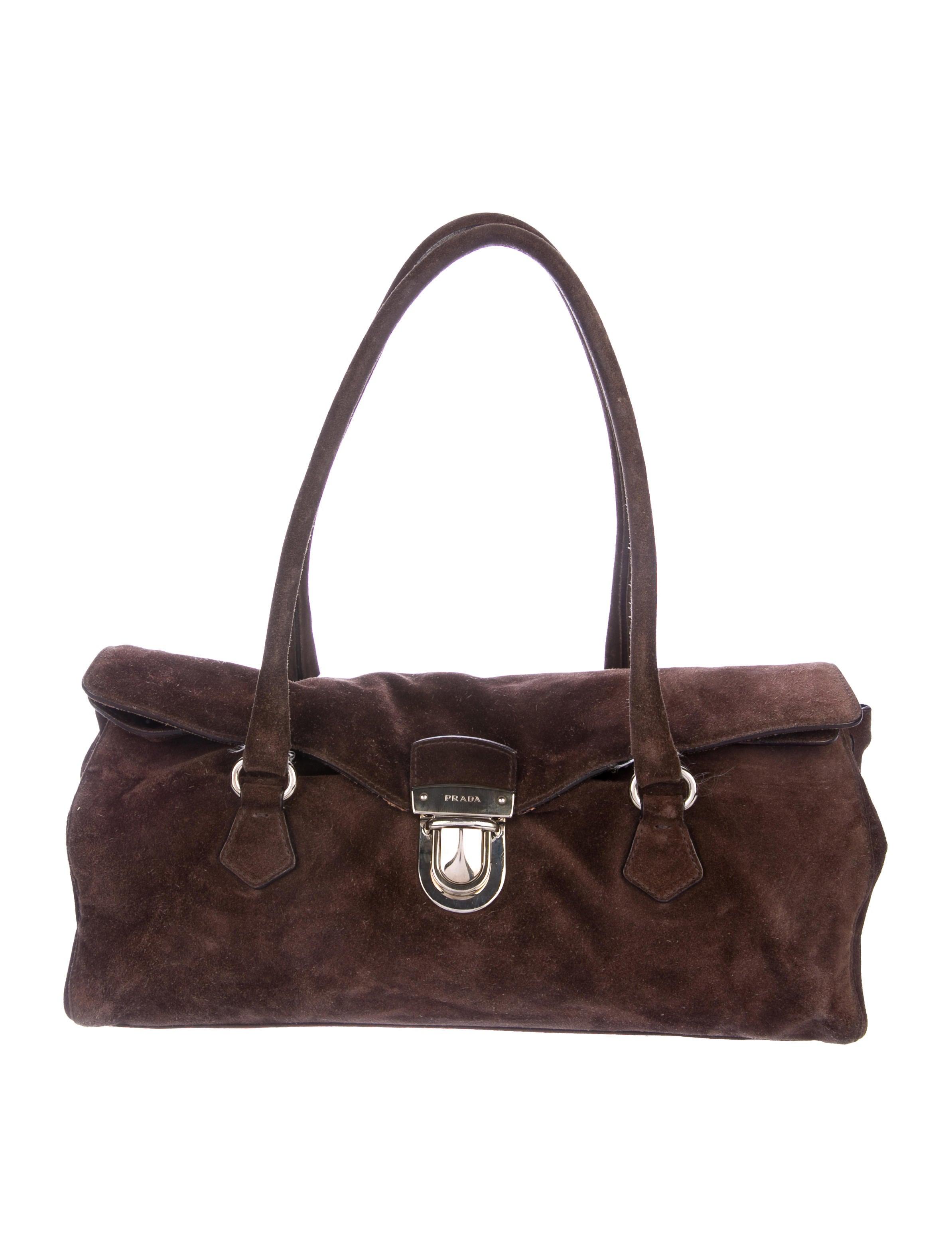 Prada Scamosciato Easy Bag - Handbags - PRA245985  e51aee97d6674