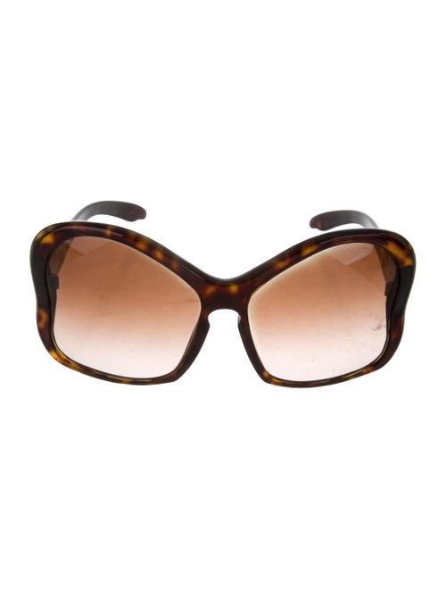 798be71a5a602 Prada Oversize Butterfly Sunglasses - Accessories - PRA250448