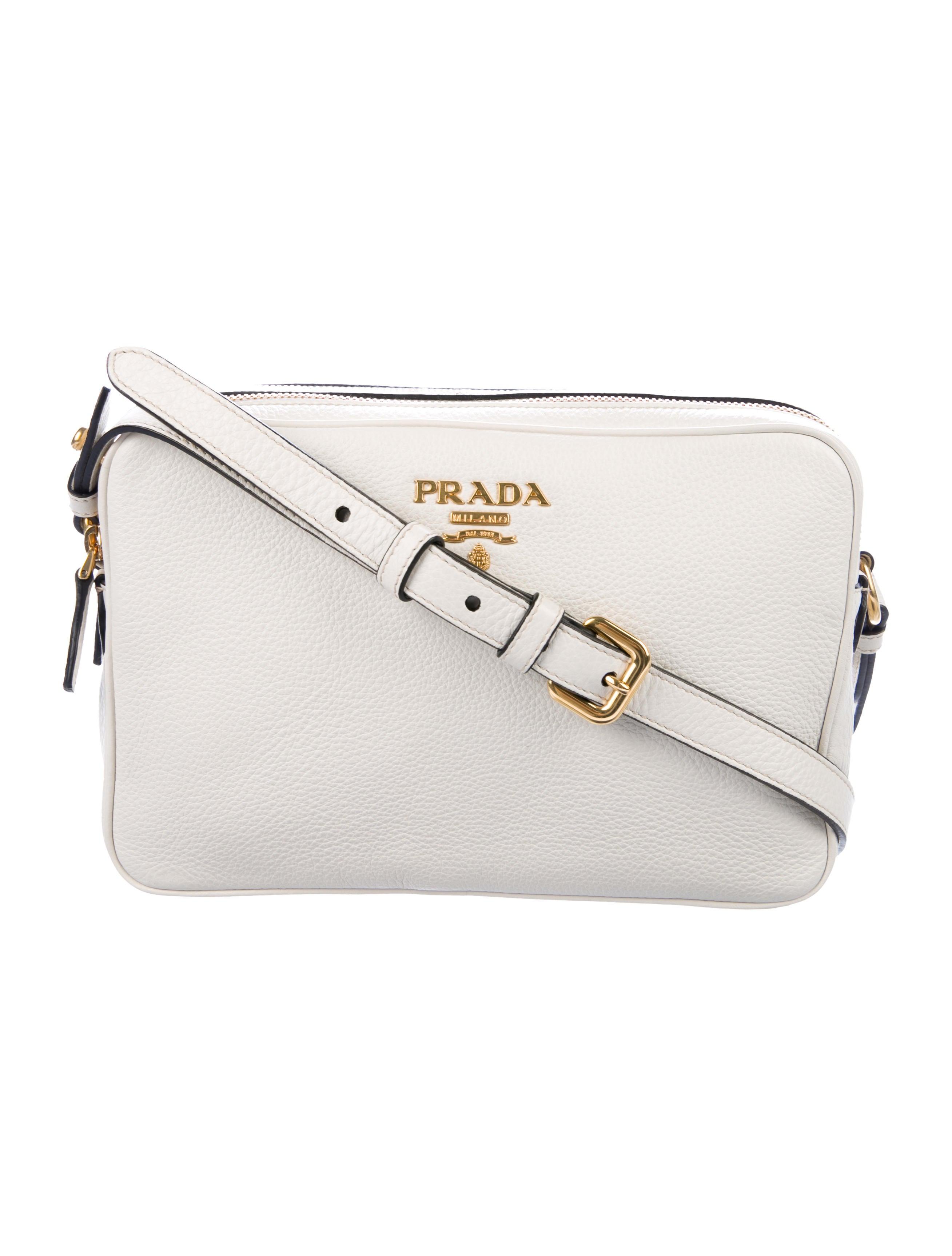 c9a5572b1617 Prada Vitello Phenix Double Zip Camera Bag - Handbags - PRA261678 ...