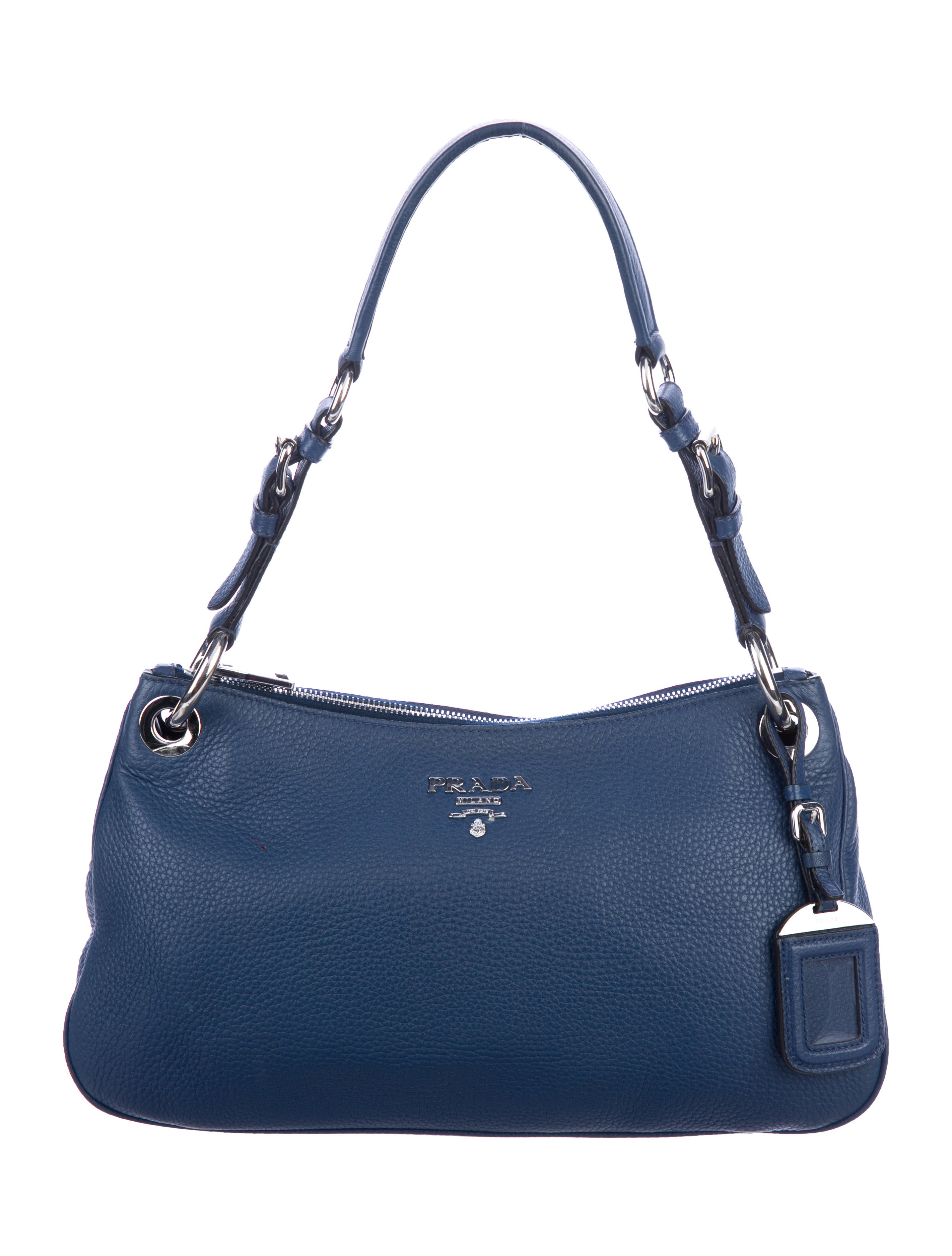 73a34a23a7b7 Prada Vitello Daino Shoulder Bag - Handbags - PRA261716