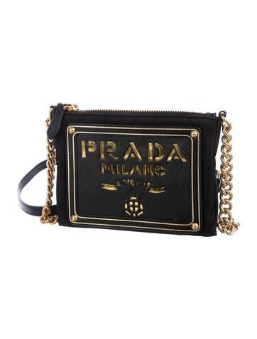 839cb5c4c9 Prada Tessuto Oro Crossbody Bag w  Tags - Handbags - PRA262062