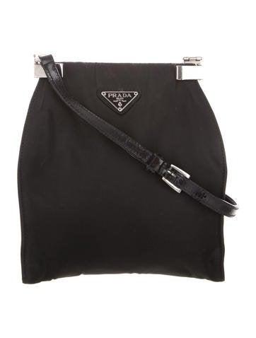 842ae669d68 Prada. Vintage Tessuto Frame Bag