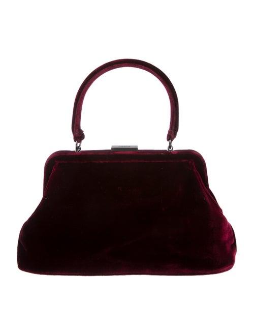 Prada Velvet Frame Handle Bag - Handbags - PRA264155  9762a87499484