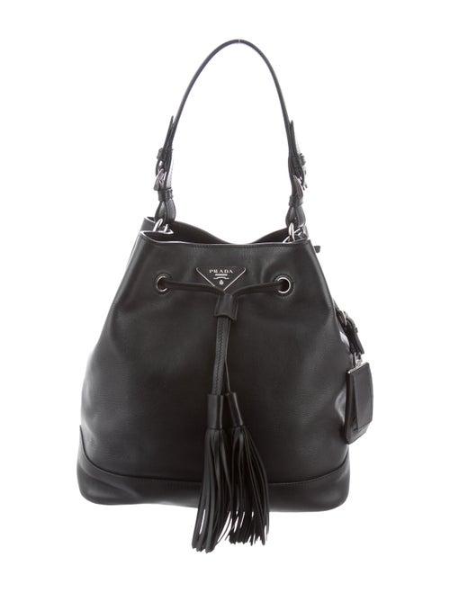 d193f642460a Prada City Calf Bucket Bag - Handbags - PRA268202
