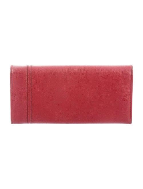 fd5a49b3823b70 Prada Saffiano Lux Bow Wallet - Accessories - PRA268212 | The RealReal