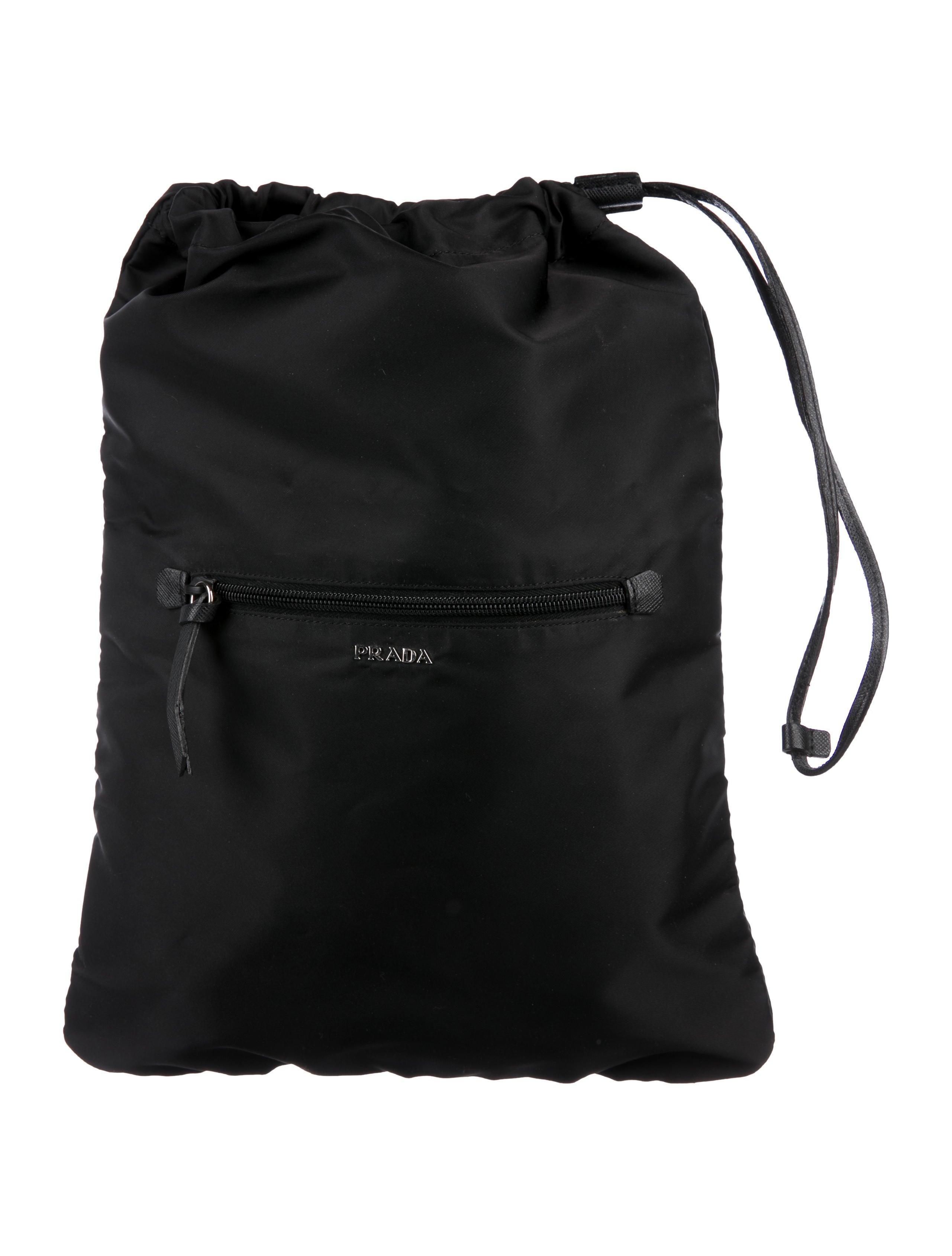 50a818cd031b Prada Tessuto Drawstring Bag - Bags - PRA268866