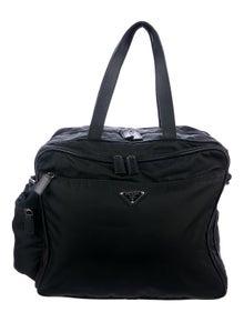 e7ae01274a4b Prada. Tessuto Diaper Bag