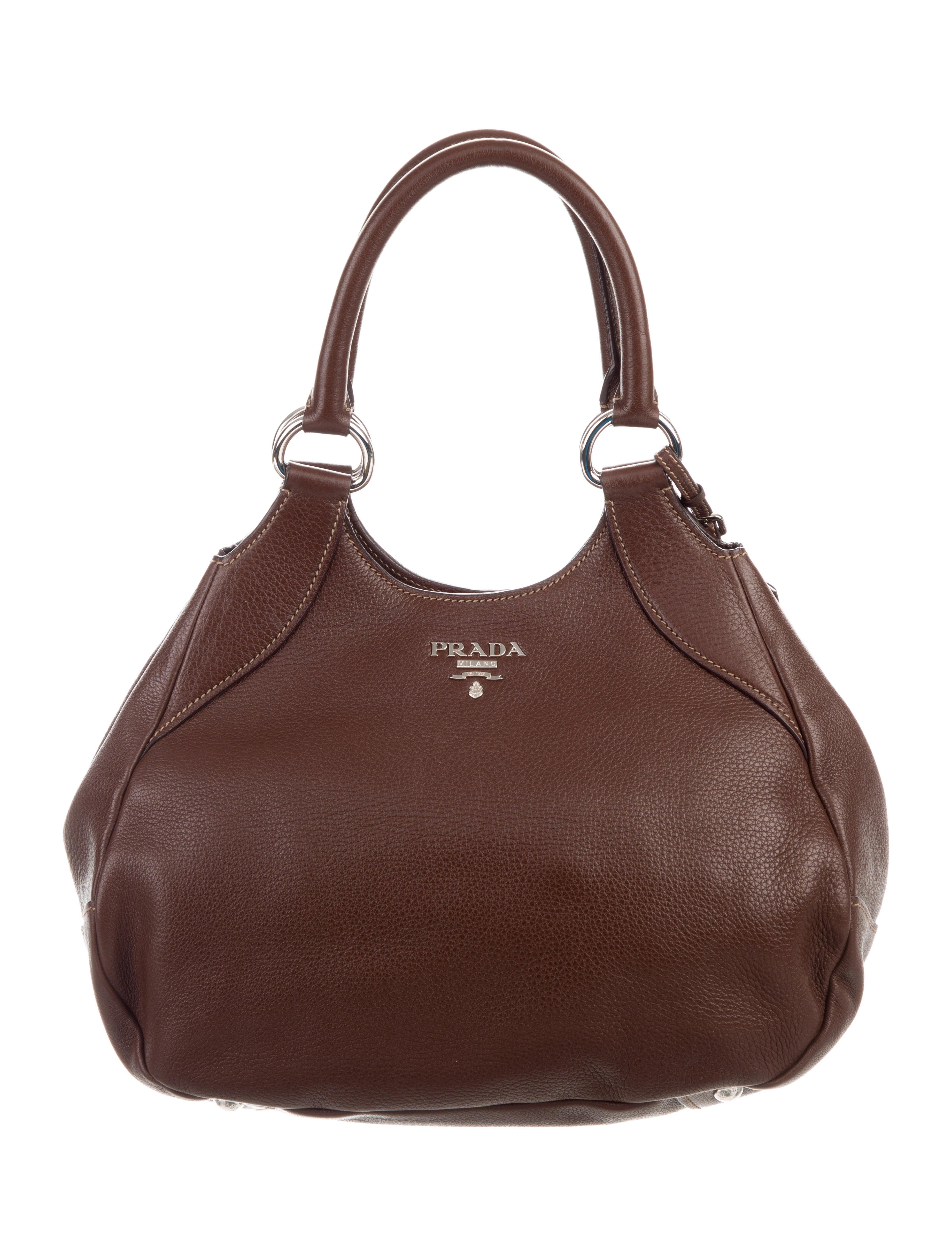4fe641a1d542 Prada Vitello Daino Shoulder Bag - Handbags - PRA273579